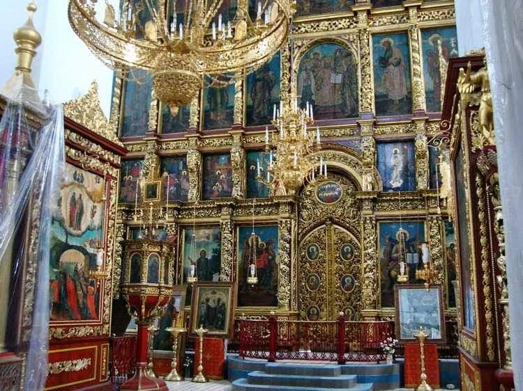 В свято троицком соборе